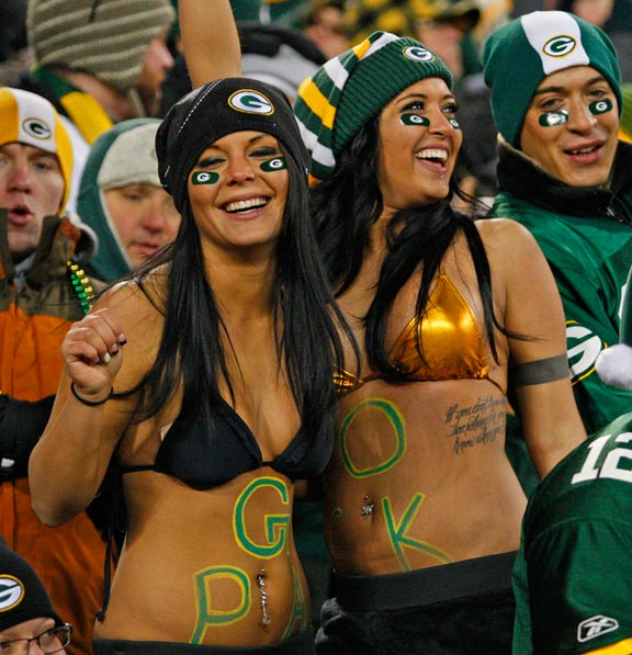 Packers giants bikini girls